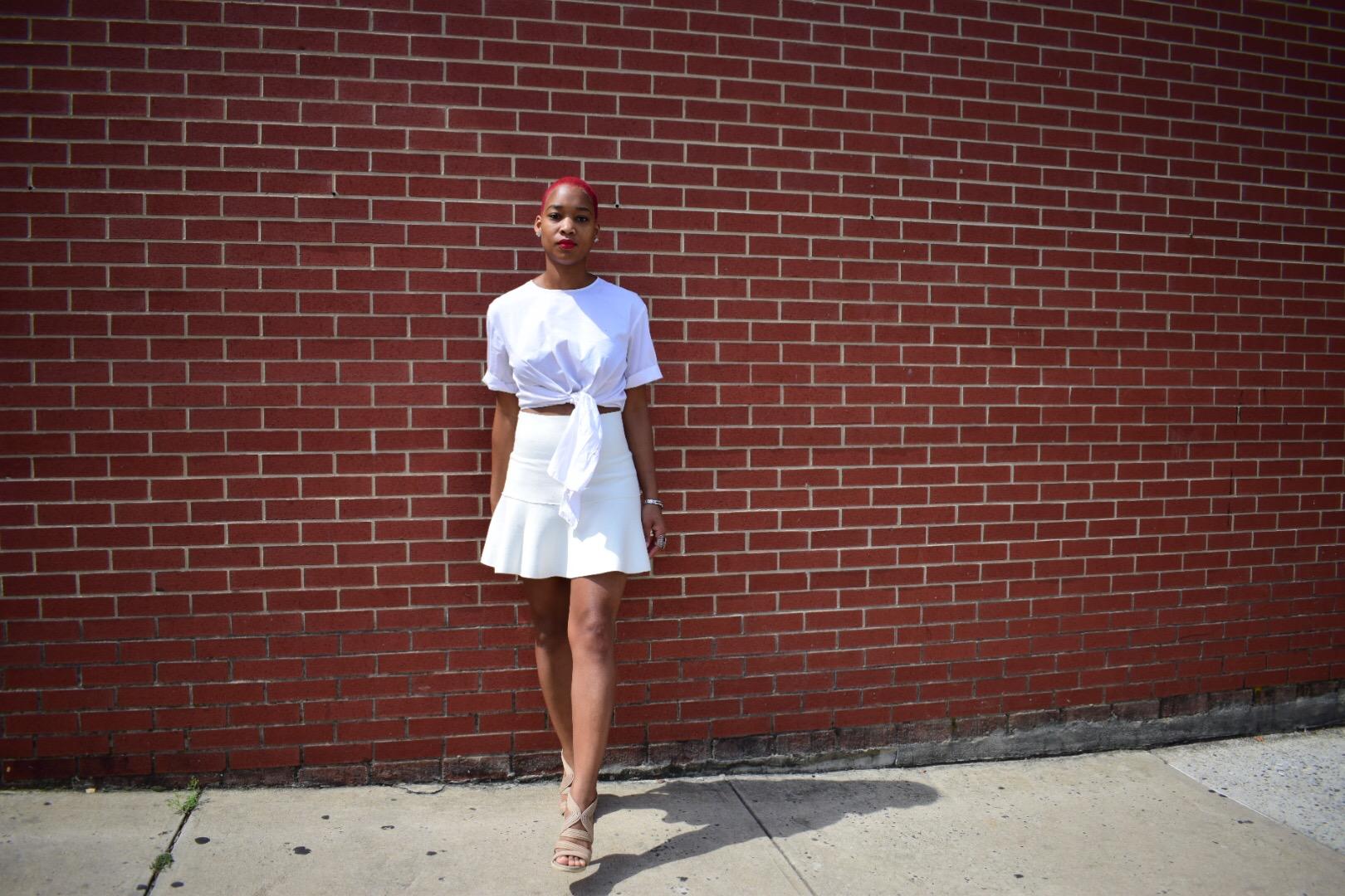 all white outfit, summer fashion, zara, bcbg, nia groce